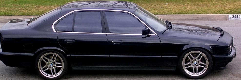 Lowered E34 530i