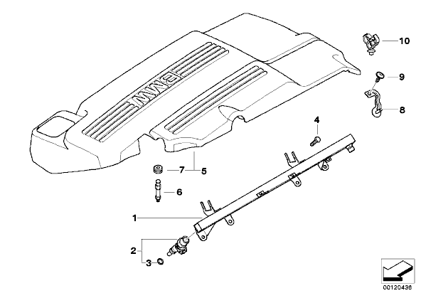 Attachment on 2003 Hyundai Elantra Fuse Computer